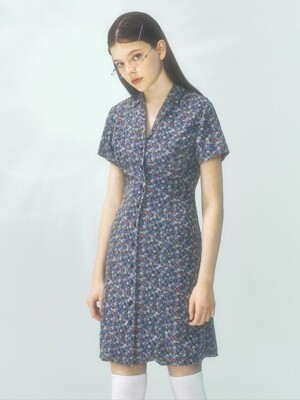 [CITY] Antique Shirts Dress_BLUE (CTD1)