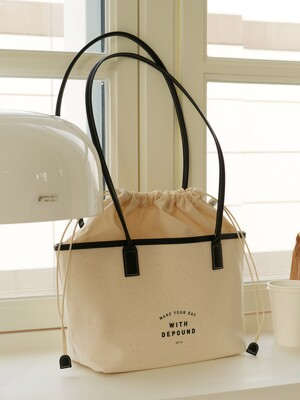 day bag (shopper S) - black