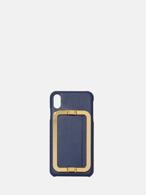 IPHONE XS MAX CARD CASE NAVY