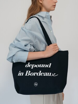 Bordeaux bag (L) - navy