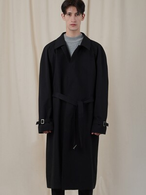 MAC LONG COAT_BLACK