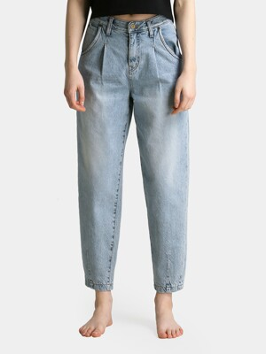 W8 Slouch Denim Pants_Light Blue