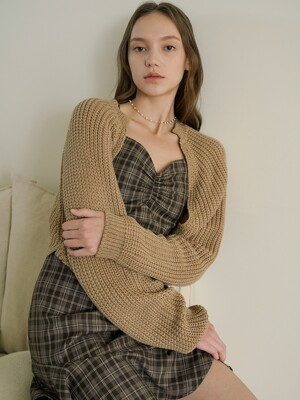 roo cardigan brown