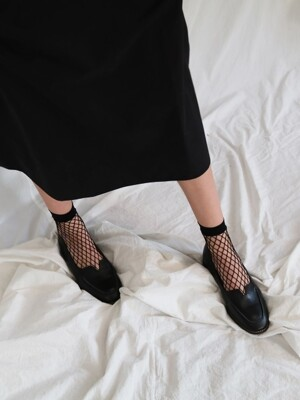 T004 voca loafer black (1.5cm)