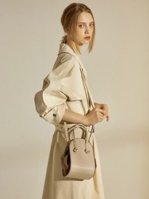 N U shoulder bag(Ivory)
