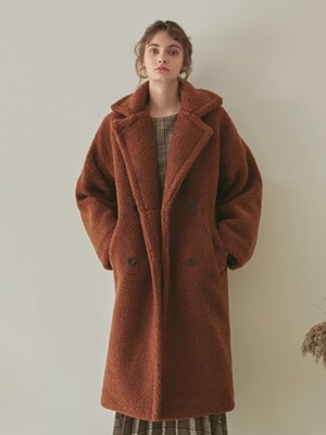 DUMBLE LONG MUSTANG COAT_CAMEL