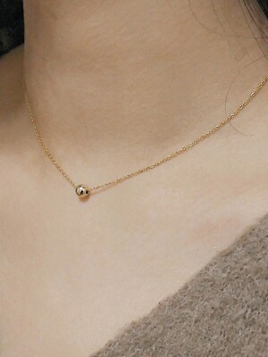 GOLD BALL 14K GOLDFILLED NECKLACE