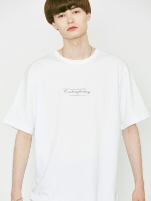 V366 CONTEMPORARY HALF-TEE_WHITE