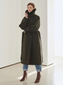 19N padding trench coat [D/KA]