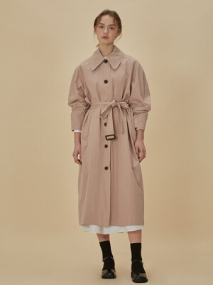 Notable Trench coat_Light pink