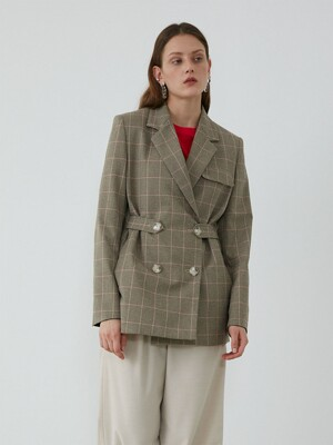 WAIST LINE CONTROL OVER JACKET