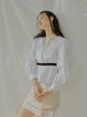 Iris Blouse[White]