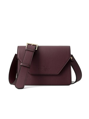 clover cross bag (wine) - D1006WN