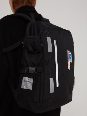 Agent tech backpack/ Noir