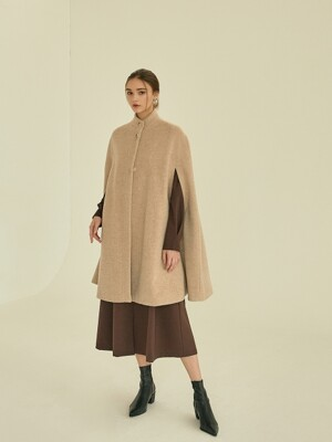 adorable cape coat[beige]