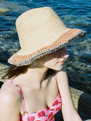 shore straw hat