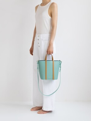 [리퍼브상품] 2WAY BUCKET BAG LIMPET SHELL