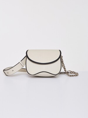COLLINE BAG, CREAM