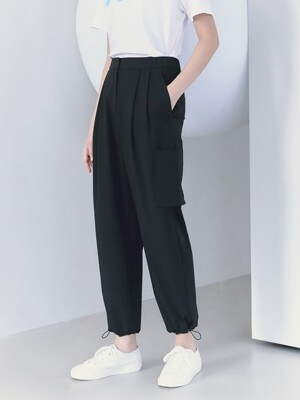 Signature String Point Banding Pants  Black (KE1221M015)