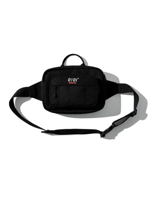 [ORIGINAL PACK] SQUARE WAIST BAG [BLACK]