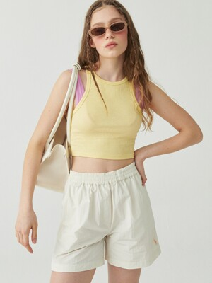 COOLING SHORTS, CREAM