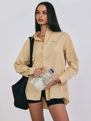 WELLNESS SHIRT 베이지