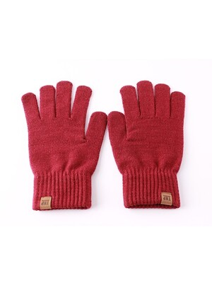 16 F/W OG LABEL GLOVE V2 - RED