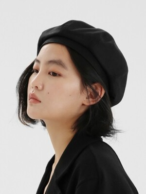 BREAD BERET / BIO / BLACK