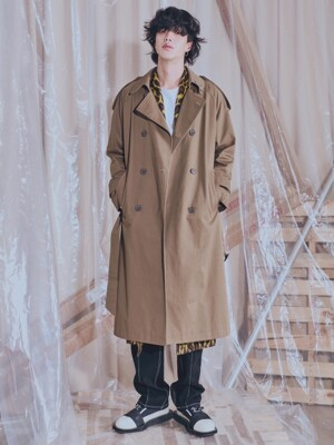 TIMELESS OVERFIT TRENCH COAT Vol. 2 (3 color)