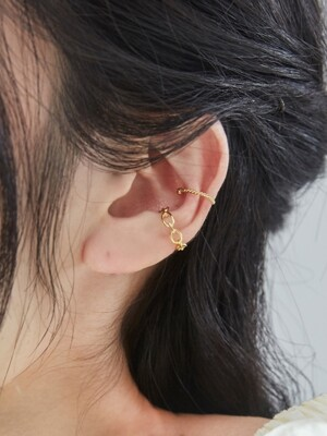 dot point earcuff set