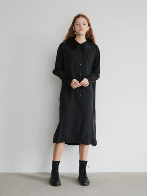 19' FALL_Black Sailor Casual Dress