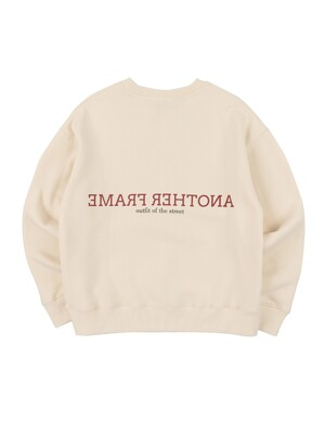 CLOUDY COLOR CREWNECK (IVORY)