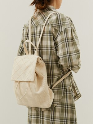 Raw Cotton Backpack