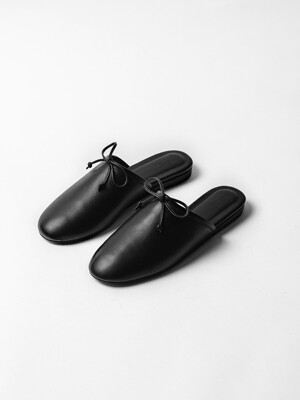 Orchid Slipper Black