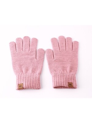 16 F/W OG LABEL GLOVE V2 - PINK