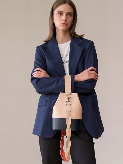 Nouer Bucket Bag_BEIGE