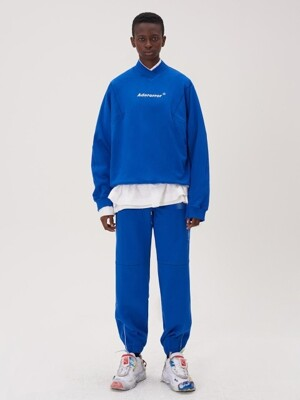 Incision jogger trousers Z-Blue