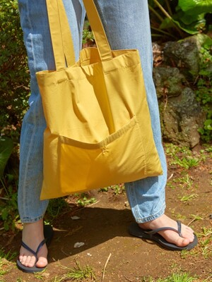 19 SUMMER LOCLE LC ECO BAG - YELLOW