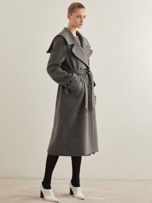 SAILOR WOOL COAT_GREY