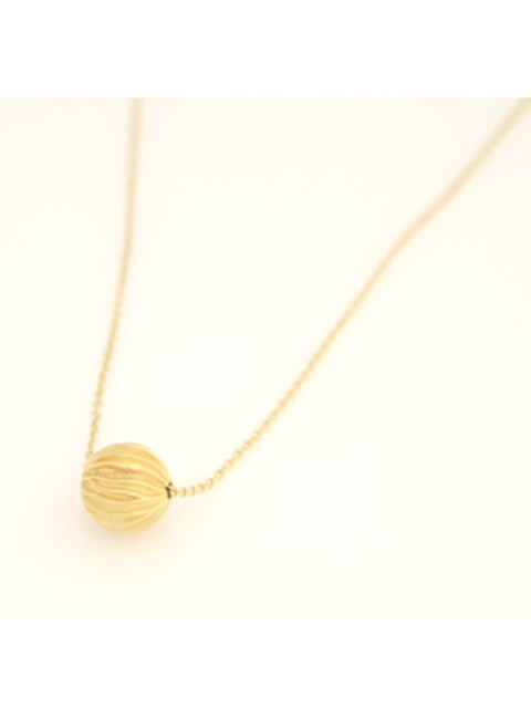 Wave ball necklace