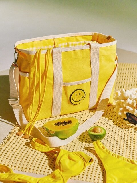 Sketch canvas bag_Yellow