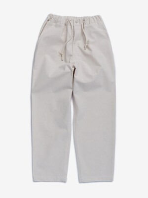 MODOO PANTS_TAPERED (IVORY)