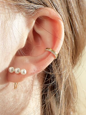 BASIC SHINE EARCUFF