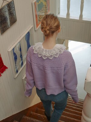 Embroider Lace Collar