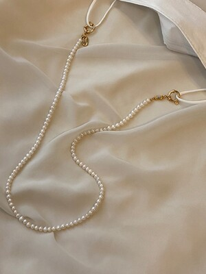 Pearl Necklace / Maskstrap