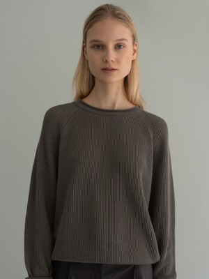 Hayes cotton jumper (Oat brown)