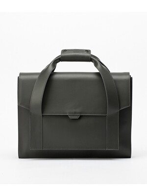 POLYGON SATCHEL[grey]