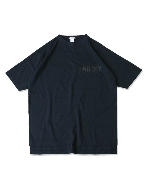 swellmob YAMS hi-neck t-shirts -navy-