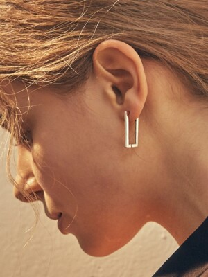 rectangle earring