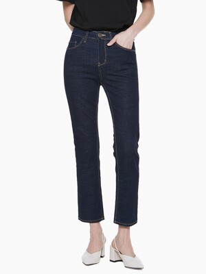 LW041 YELLOW STITCH POINT DENIM_BLUE
